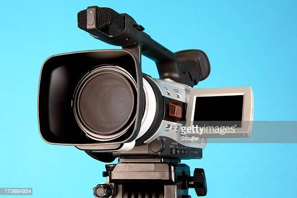dv - blue film video stock-fotos und bilder