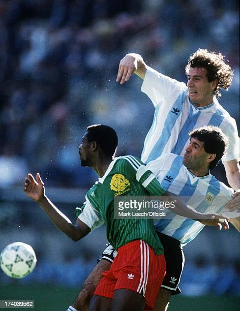 ITALIA '90 WORLD CUP OPENING MATCH ARGENTINA V CAMEROON