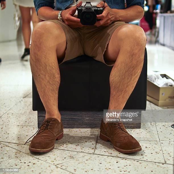 in department store - shorts stock-fotos und bilder