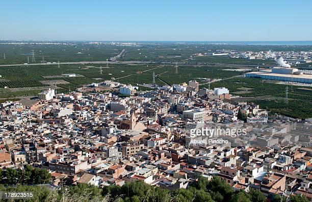 """vista """"aerea""""-la vilavella - castellon de la plana stock photos and pictures"""