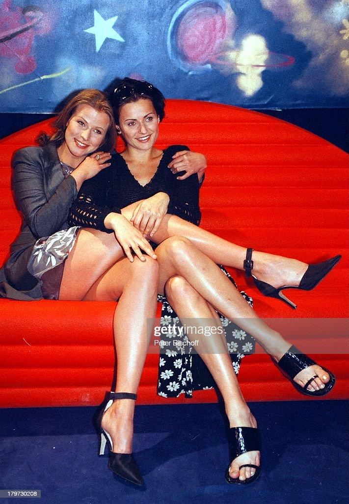 Leonore Capell, Katja Keller, ARD-Serie;1000. Folge 'Marienhof', : News Photo