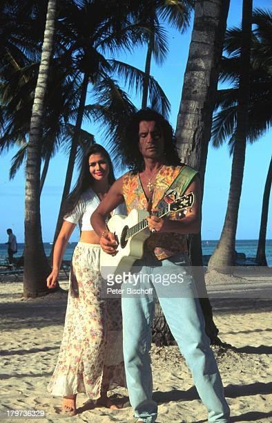 Costa Cordalis mit Tochter Eva CostaCordalis Saga 1997 Dominikanische Republik / Karibik