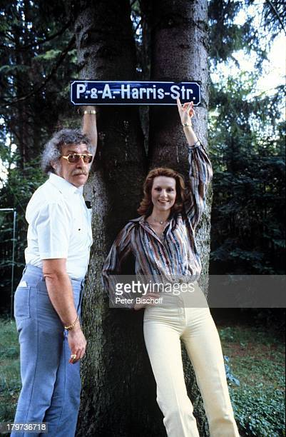 Peggy March mit Ehemann Arnie HarrisHomestory