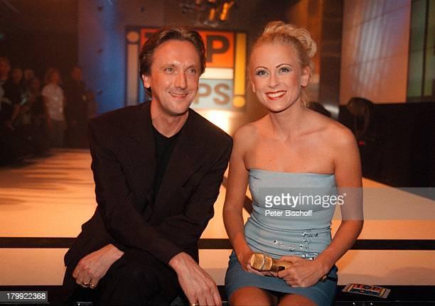Jenny Elvers Marius MüllerWesternhagenRTLShow 'Top of the Pops' Mikrofon