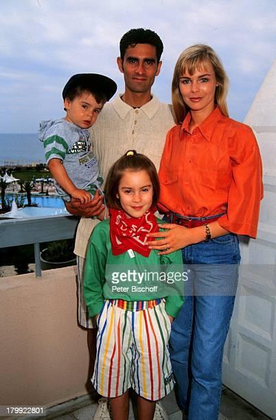 Saskia Valencia Ehemann Nicolas ValenciaTochter Alexandra Sohn LeonardAntalya/Türkei Urlaub