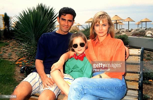 Saskia Valencia Ehemann Nicolas ValenciaTochter Alexandra Antalya/Türkei Urlaub