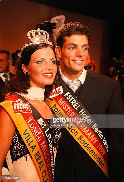 Florian Roski Alexandra Philipps 'Miss Mister Germany Wahl 99' EstrelResidence Congress Hotel Berlin