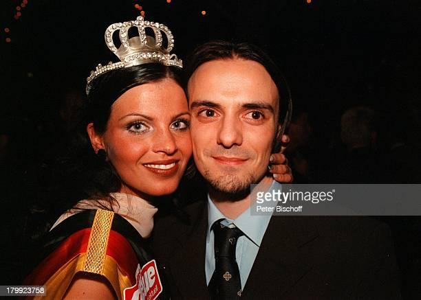 Alexandra Philipps Fernado Pescoul 'Miss MisterGermany Wahl 99' Estrel Residence Congress Hotel Berlin