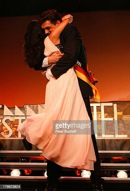 Alexandra Philipps Florian Roski 'Miss Mister Germany Wahl 99' Estrel Residence Congress Hotel Berlin