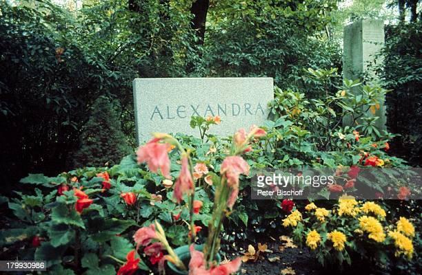 Grab Alexandra Nefedov Sängerin München Friedhof