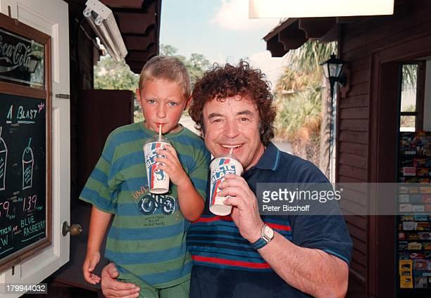 Tony Marshall mit Enkel JanecFlorida/Amerika/USA Urlaub