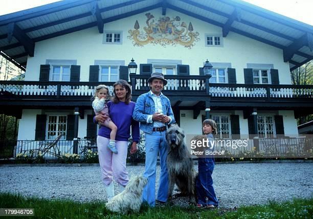 Hans Clarin ExEhefrau MargaretheTochter Anna Sohn Philipp HomestoryMünchen Hund Tier