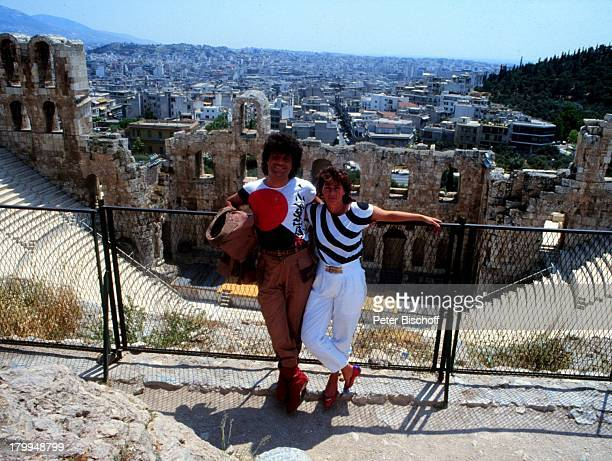 Costa Cordalis mit Ehefrau IngridGriechenland Urlaub
