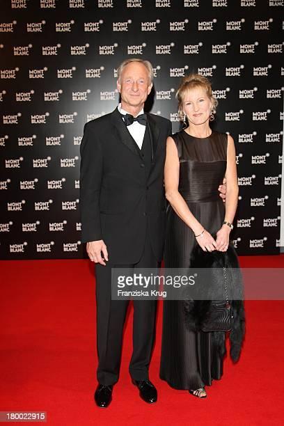 Lutz Bethge Und Ehefrau Gabi Bei Der Montblanc Charity Gala Und Weltpremiere Der Montblanc Prinz Rainier Iii Limited Edition 81 Hommage An Fürst...