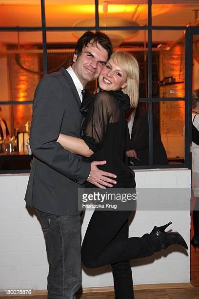 Anja Nejarri Und Andre Pollmann Beim 'Gala Style Club' Unter Dem Motto 'Where Fashion Meets Music' Im Elbdock In Hamburg