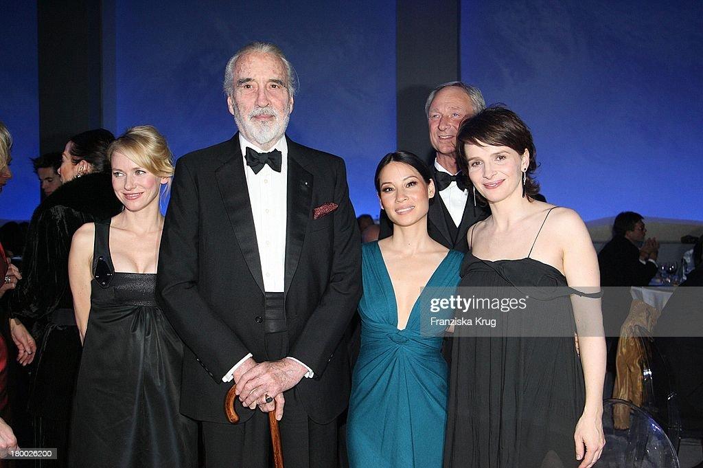 Naomi Watts, Christopher Lee, Lucy Liu Und Juliette Binoche Bei Der