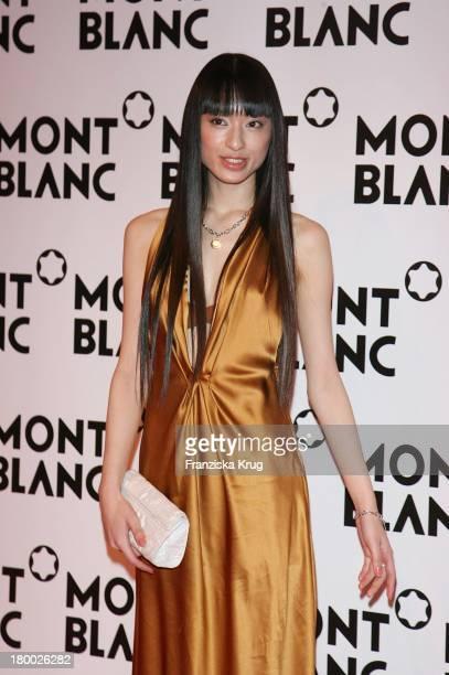 Chiaki Kuriyama Bei Der Mont Blanc Party 'Night Of The Stars' In Chamonix Am 020207