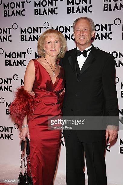 Lutz Bethge Und Ehefrau Gabi Bei Der Mont Blanc Party Night Of The Stars In Chamonix Am 020207