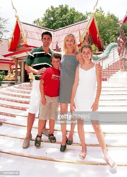 Saskia Valencia Ehemann Nicolas Tochter Alexandra Sohn Leonard Koh Samui/Thailand Urlaub