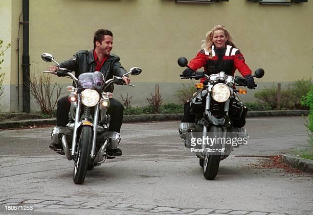 Eve Scheer Christof Arnold Privatreportage München BMW Motorrad Lederjacke