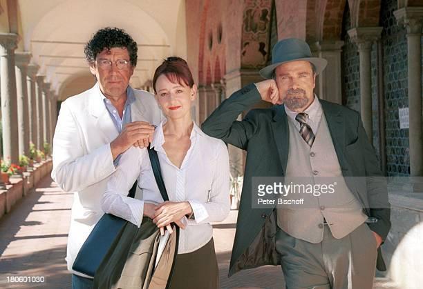 Jacques Breuer Susanne Lothar Franco Nero ARDFilm Achte Todsünde II Das Toskana Karussell Pisa/Italien Hut