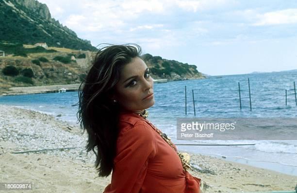 Daliah LaviGans FernsehShow Sardinien/Italien Meer Strand