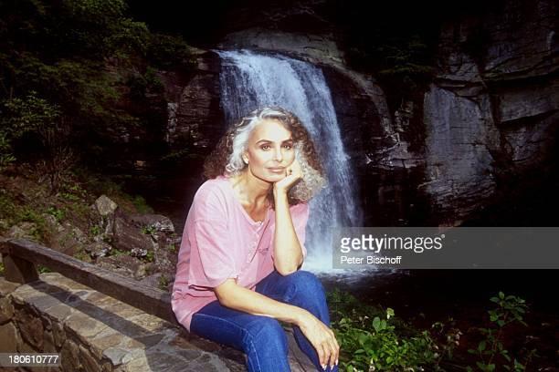 Daliah Lavi Gans Flat Rock / North Carolina / USA / Nord Amerika / Wasserfall