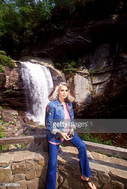 Daliah Lavi Gans Flat Rock / North Carolina / USA / Nord Amerika Wasserfall
