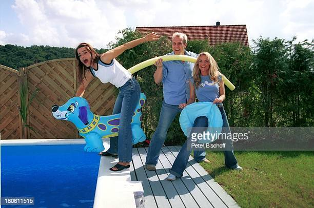Natasja Marinkovic Andreas Lebbing Iris Criens Musikgruppe Wind Homestory Pool Schwimmbecken 794/2002