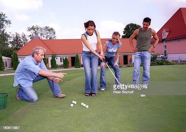 Andreas Lebbing Nastasja Marinkovic Iris Criens Albert Oberloher Musikgruppe Wind Bad Abbach Homestory Golf Golfschläger GolfballPNR794/2002 GT