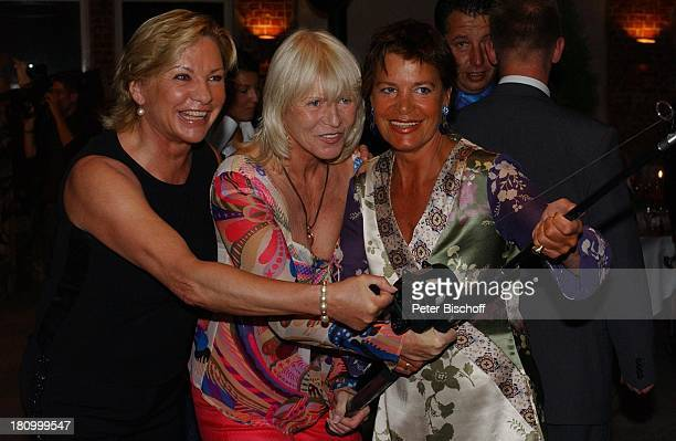 Angela Wepper Barbara Herzsprung Doris Brugger Party des Royal Fishing Club Basthorst Gut Basthorst 1392003 Angel Angelrute Promis Prominenter...