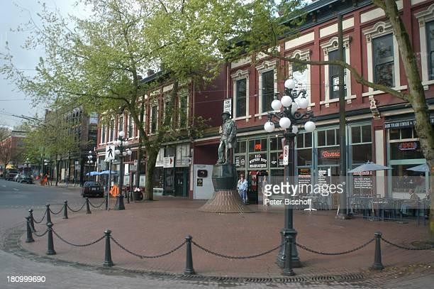 Vancouver Gastown Innenstadt City Kanada Canada Nordamerika Reise