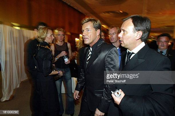 Dieter Bohlen Andre Selleneit AftershowParty 'Echo 2003' Berlin 'ICCInternationales Congress Centrum'