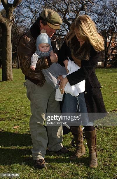 Oliver Tobias Ehefrau Arabella Tobias Sohn Luke Tobias Homestory London/England/Grossbritannien Schauspieler Familie Baby Promis Prominente...