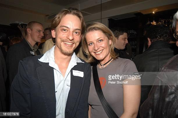 Florian Fischer Christina Rainer ndFafterwork 2003 Pressecocktail München Harpers und Queens