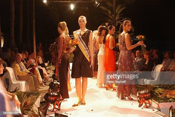 Teilnehmerinnen der Miss GermanyWahl 2005 Claudia Ehlert Gran Canaria/Kanarische Inseln/Spanien