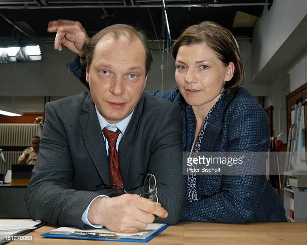 Martin Brambach Claudia Schmutzler ZDFSerie SOKO Wismar