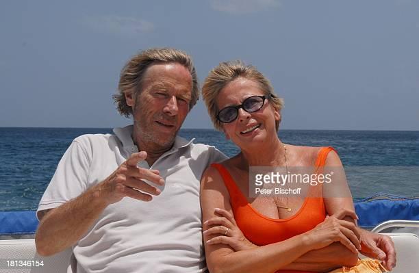 Horst Janson Ehefrau Hella Almond Beach Village Urlaub BootsAusflug Speightstown / St Peter Insel Barbados Karibik Schauspieler