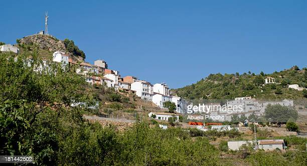 castillo de vilamalefa (castellon-spain) - castellon de la plana stock pictures, royalty-free photos & images