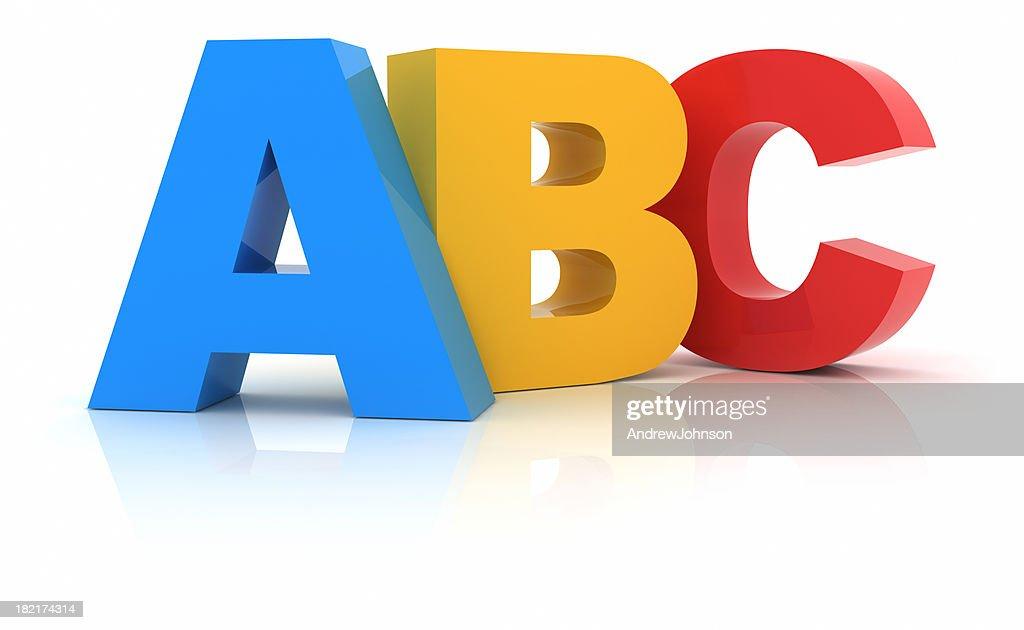 ABC : Stock Photo