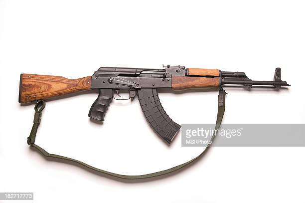 ak-47 - machine gun stock pictures, royalty-free photos & images