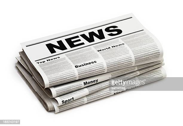 news - front page stock photos and pictures