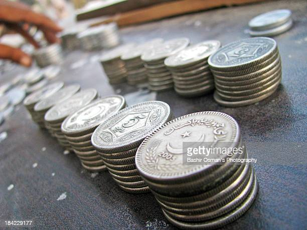 pakistani currency - pakistan currency stock photos and pictures