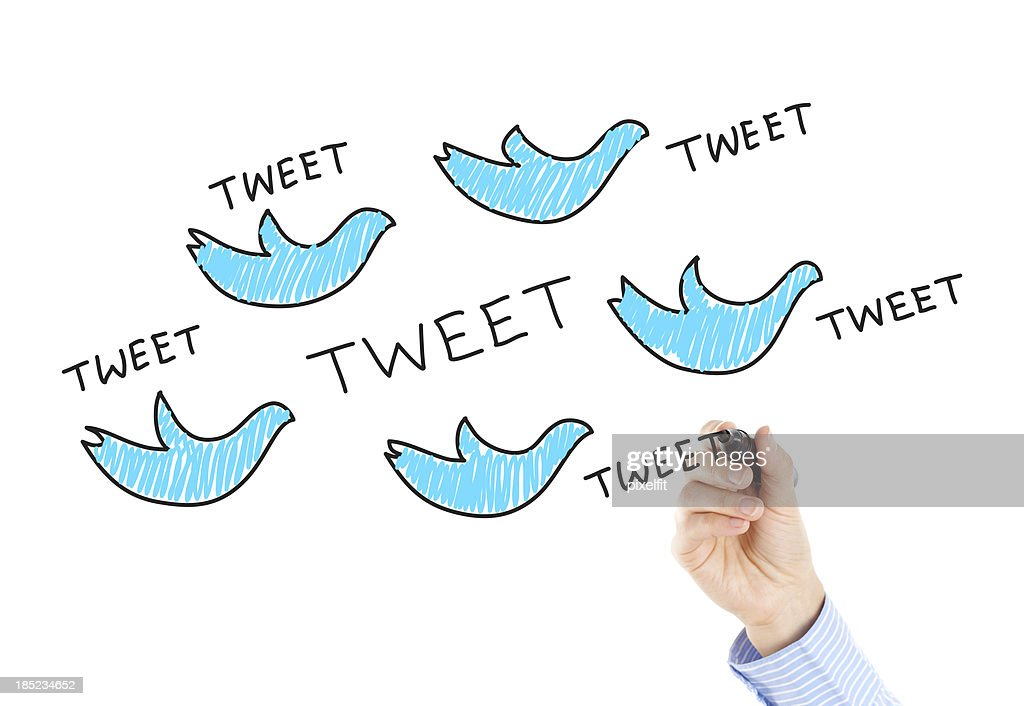 TWEET : Stock Photo