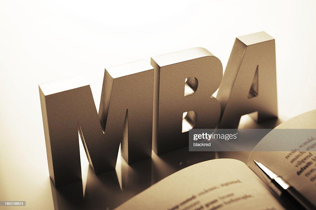 MBA : Stock Photo