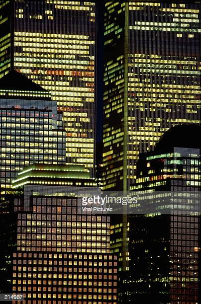 world financial & trade centers in new york city - world financial center new york city stock pictures, royalty-free photos & images