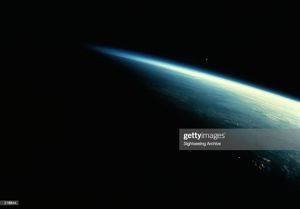 EARTH IN SHADOW : Foto de stock