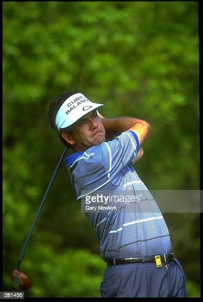 PGA GOLFER DAVID FROST TEES OFF DURING THE 1994 PLAYERS CHAMPIONSHIP AT THE TPC AT SAWGRASS IN PONTE VEDRA FLORIDA MANDATORY CREDIT GARY...