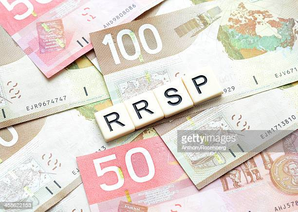 rrsp - canadian one hundred dollar bill stock pictures, royalty-free photos & images