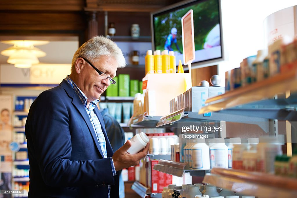 I need to stock up on this medication : Stock Photo